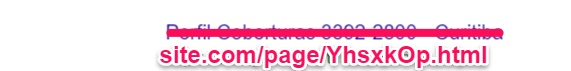 Imagem que mostra uma URL não amigável de um site