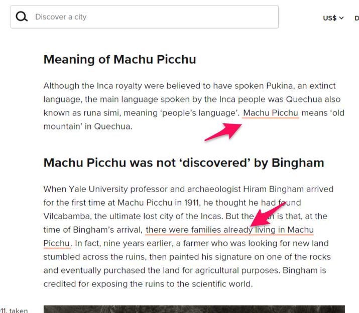 """Exemplo de artigo como um """"guia completo"""", ótimo para receber backlinks"""